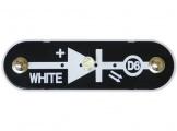 D6 (6SCD6) LED Dioda, svítící bíle II