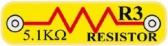 R3 (6SCR3) Odpor 5,1k