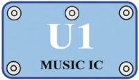 U1 (6SCU1) Integrovaný obvod Hudba