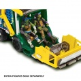 TMNT Želvy Ninja MOVIE - Auto Tactical truck