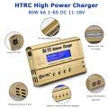 Nabíječka baterií HTRC B6 V2 s displejem