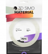 3DSimo Filament PETG/PLA - transparent 15m