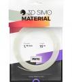 3DSimo Filament PETG/PLA - transparent 15m