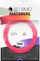3DSimo Filament HIPS - modrá, růžová, žlutá 15m