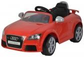Elektrické auto Audi TT RS Plus červené