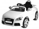 Elektrické auto Audi TT RS Plus bílé