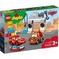 LEGO DUPLO Cars TM 10924 Závodní den Bleska McQuee