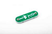 D2 (6SCD2) LED Dioda, svítící zeleně