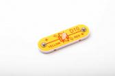 D10 (6SCD10) Červená/žlutá LED dioda