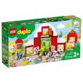 LEGO DUPLO Town 10952 Stodola, traktor a zvířátka
