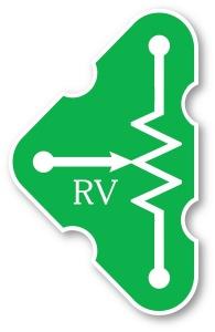 RV (6SCRV) Nastavitelný odpor