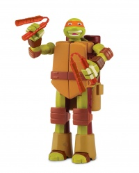 TMNT Želvy Ninja TRANSFORM to weapon MICHELANGELO