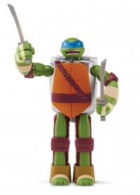 TMNT Želvy Ninja TRANSFORM to weapon LEONARDO