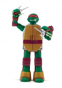 TMNT Želvy Ninja TRANSFORM to weapon RAPHAEL