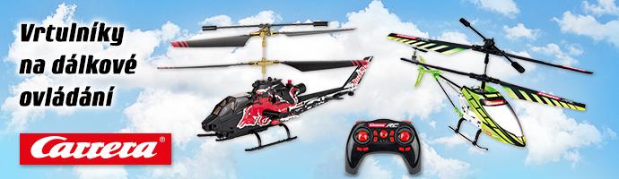 Carrera vrtulníky