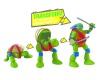 Figurky, které se proměňí ze želvy na bojovníka ninja!